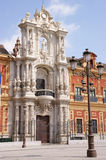 Palacio de San Telmo in Seville Royalty Free Stock Images