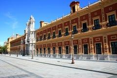 Palacio de San Telmo in Seville, Spain Royalty Free Stock Photos