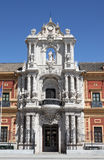 Palacio de San Telmo, Seville Spain Royalty Free Stock Images