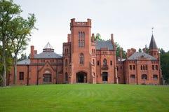 Palacio de Sangaste Imagen de archivo libre de regalías