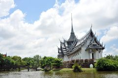 Palacio de Sanphet Prasat Foto de archivo