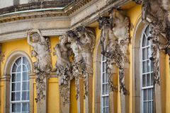 Palacio de Sanssouci, Potsdam foto de archivo libre de regalías