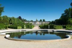 Palacio de Sanssouci y viñedo colgante foto de archivo libre de regalías