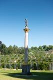 Palacio de Sanssouci y viñedo colgante fotos de archivo libres de regalías