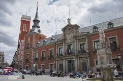 Palacio De Santa Cruz, Außenministerium-Gebäude wütend stockfotografie