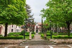 Palacio de Santa Cruz of the University of Valladolid Royalty Free Stock Photo