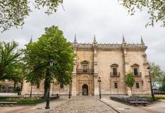 Palacio de Santa Cruz of the University of Valladolid Stock Image