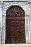 Palacio de Schifanoia. Ferrara. Emilia-Romagna. Italia. Imágenes de archivo libres de regalías