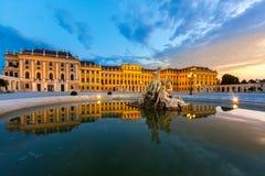 Palacio de Schonbrunn foto de archivo
