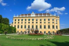 Palacio de Schonbrunn en Viena Imagen de archivo libre de regalías
