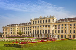 Palacio de Schonbrunn en Viena imagen de archivo