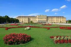 Palacio de Schonbrunn en Viena Fotos de archivo libres de regalías