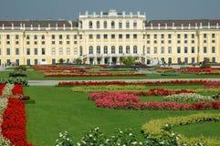 Palacio de Schonbrunn en Viena. Austria Foto de archivo libre de regalías