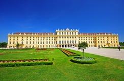 Palacio de Schonbrunn en Viena, Austria Fotografía de archivo libre de regalías