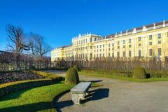 Palacio de Schonbrunn - la residencia imperial anterior del verano Fotografía de archivo libre de regalías