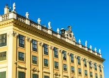 Palacio de Schonbrunn - la residencia imperial anterior del verano Fotos de archivo libres de regalías