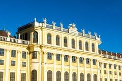 Palacio de Schonbrunn - la residencia imperial anterior del verano Foto de archivo