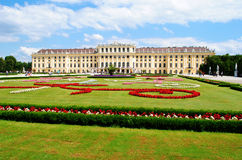 Palacio de Schonbrunn, Viena Imagen de archivo libre de regalías