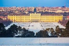 Palacio de Schonbrunn, Viena Foto de archivo