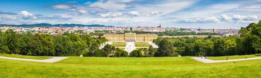 Palacio de Schonbrunn, Viena, Austria fotografía de archivo