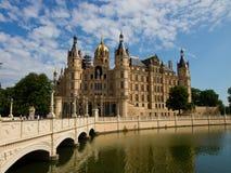 Palacio de Schwerin Imágenes de archivo libres de regalías
