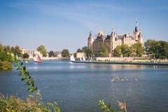 Palacio de Schwerin fotografía de archivo libre de regalías