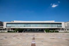 Palacio de Serbia en Belgrado Foto de archivo libre de regalías