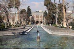 Palacio de Shah en Teherán Imágenes de archivo libres de regalías