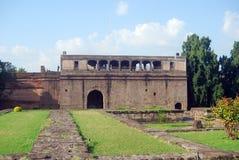 Palacio de Shaniwar Wada, Pune, la India Foto de archivo libre de regalías