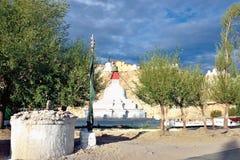 Palacio de Shey, Shey, Leh-Ladakh, Jammu y Cachemira, la India imagen de archivo