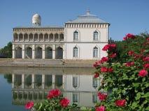 Palacio de Sitorai Mokhi-Khosa en Bukhara imagenes de archivo