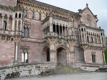 Palacio de Sobrellano, Comillas (Spain) Stock Photo