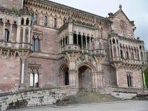 Palacio de Sobrellano, Comillas (Spain) Stock Photo
