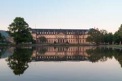 Palacio de Stutgart de la reflexión imágenes de archivo libres de regalías