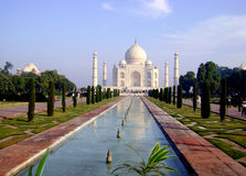 Palacio de Taj Mahal - la India Fotografía de archivo libre de regalías