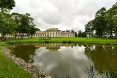 Palacio de Taujenai, Lituania Imagen de archivo