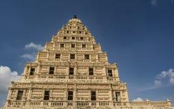 Palacio de Thanjavur - visión desde el nivel del suelo imagen de archivo