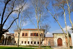 Palacio de Topkapi Foto de archivo libre de regalías