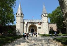 Palacio de Topkapi en Estambul Fotografía de archivo