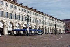 Palacio de Turín del cuadrado de San Carlo Fotografía de archivo
