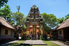 Palacio de Ubud, Bali Fotos de archivo libres de regalías