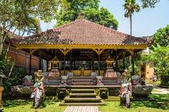 Palacio de Ubud, Bali Fotografía de archivo libre de regalías