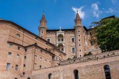 Palacio de Urbino en Italia Imagen de archivo libre de regalías