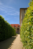 Palacio de Valdstejn en Praga Fotos de archivo libres de regalías