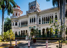 Palacio de Valle - Cienfuegos, Cuba. Ornate palace built in 1917 with the intention of making it a casino. It now houses an upscale restaurant and terrace bar Stock Image