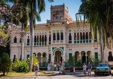 Palacio de Valle com visitantes Imagens de Stock