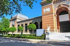 Palacio de Velazquez in Madrid Stock Image