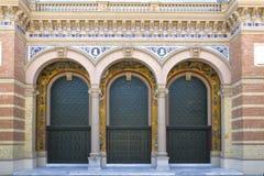 Palacio de Velazquez, Madrid, Spain royalty free stock image