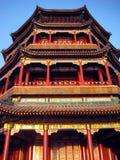 Palacio de verano, Bejing China Imagen de archivo