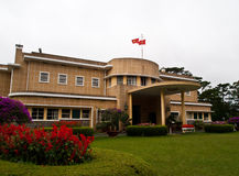 Palacio de verano de Bao Dai el emperador pasado de Vietnam Imagen de archivo